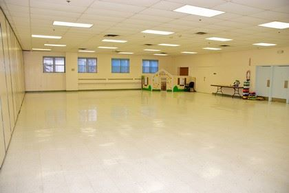 Mostly Vacant Multipurpose Room
