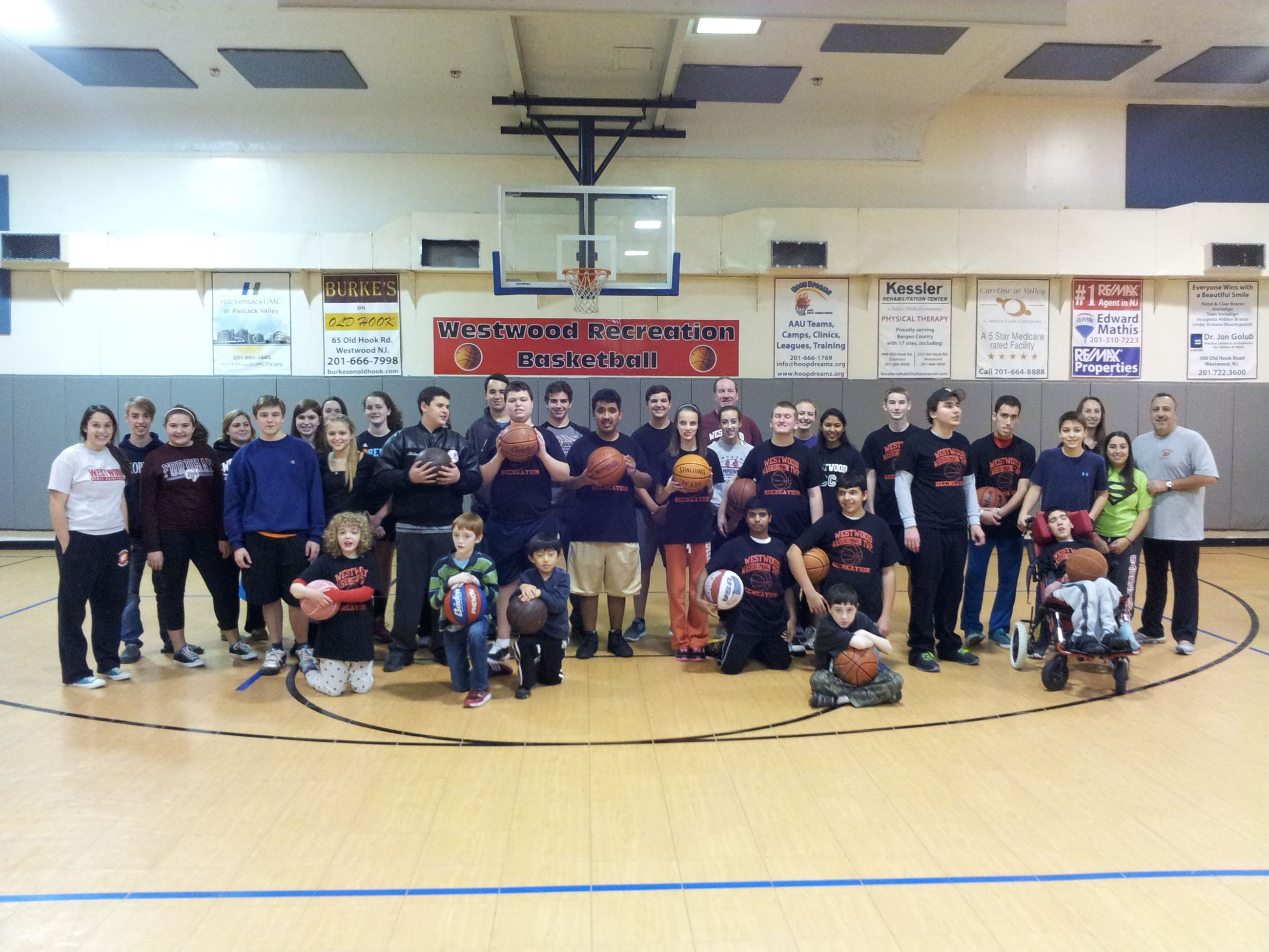 Special Needs Basketball Group