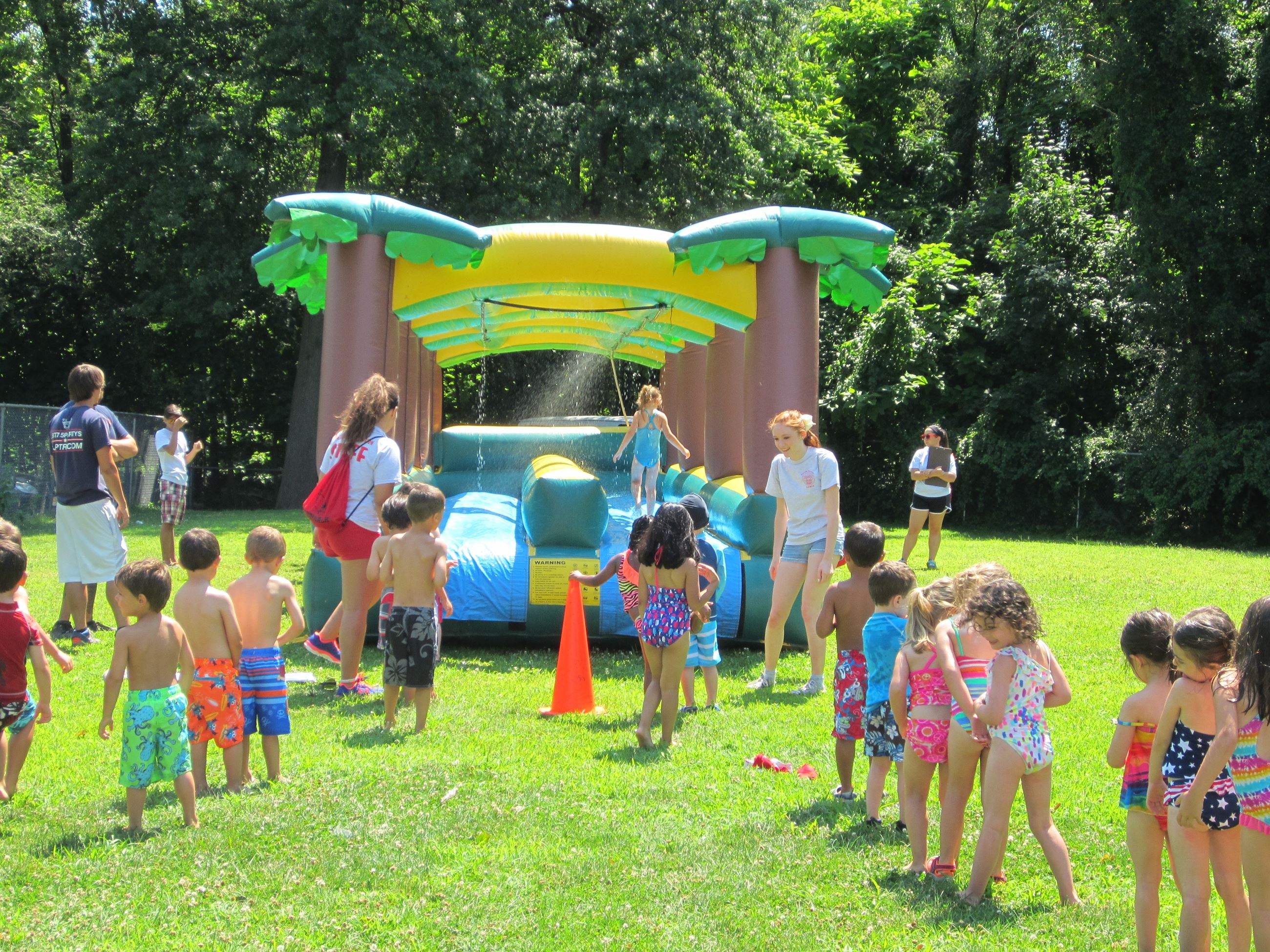 2014 Summer Playground Inflatable Water Slide
