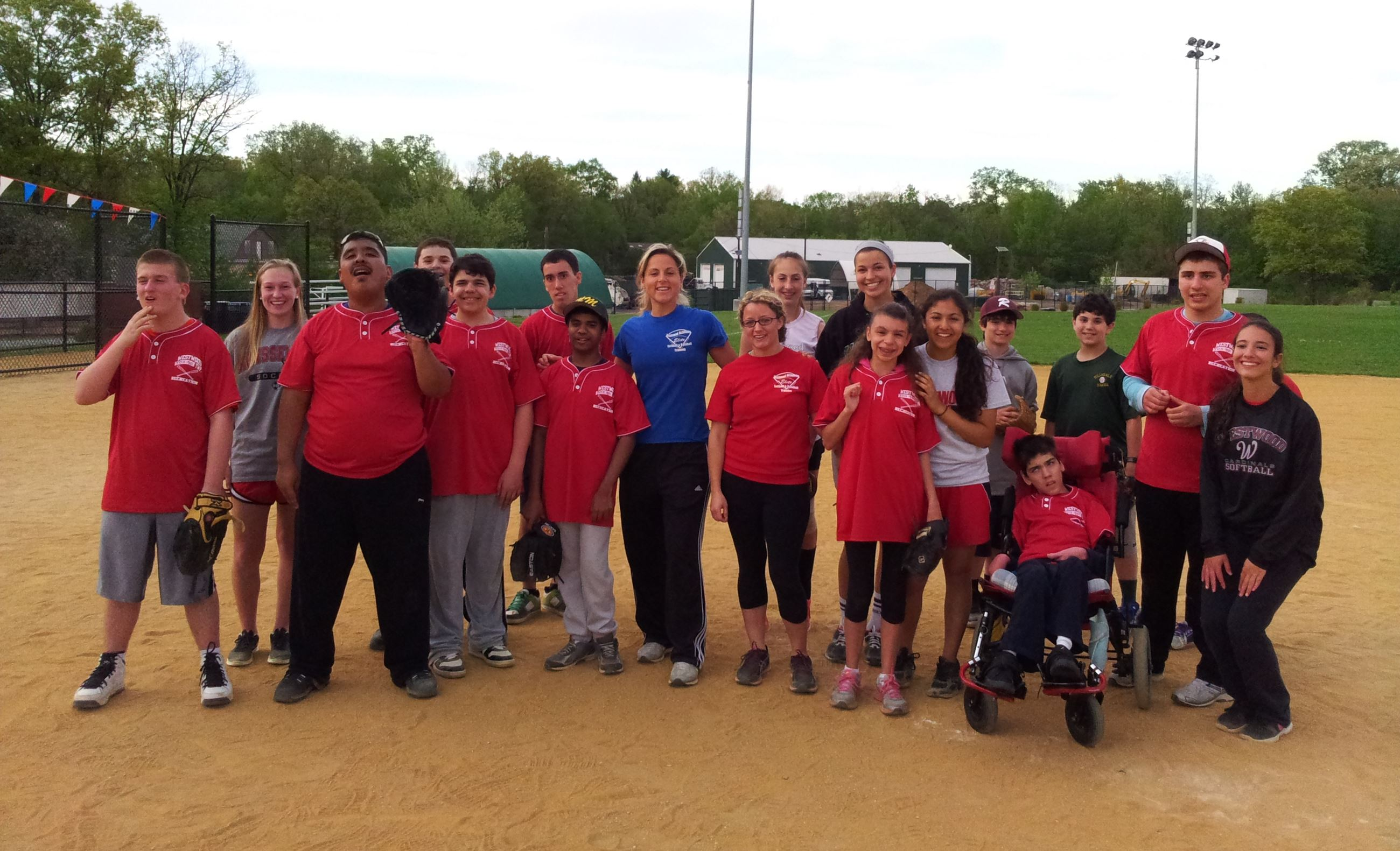 Special Needs Recreation Baseball Group
