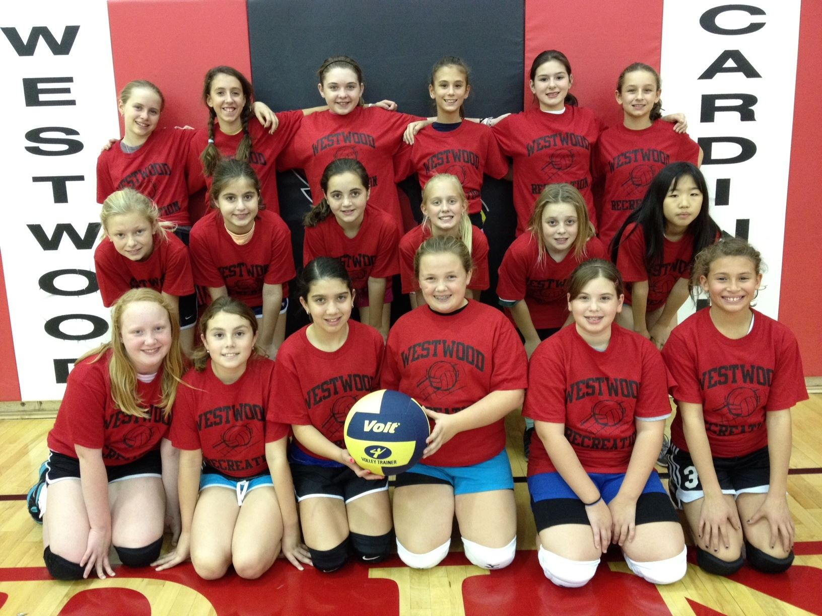 2012 5th and 6th Grade Girls Volleyball