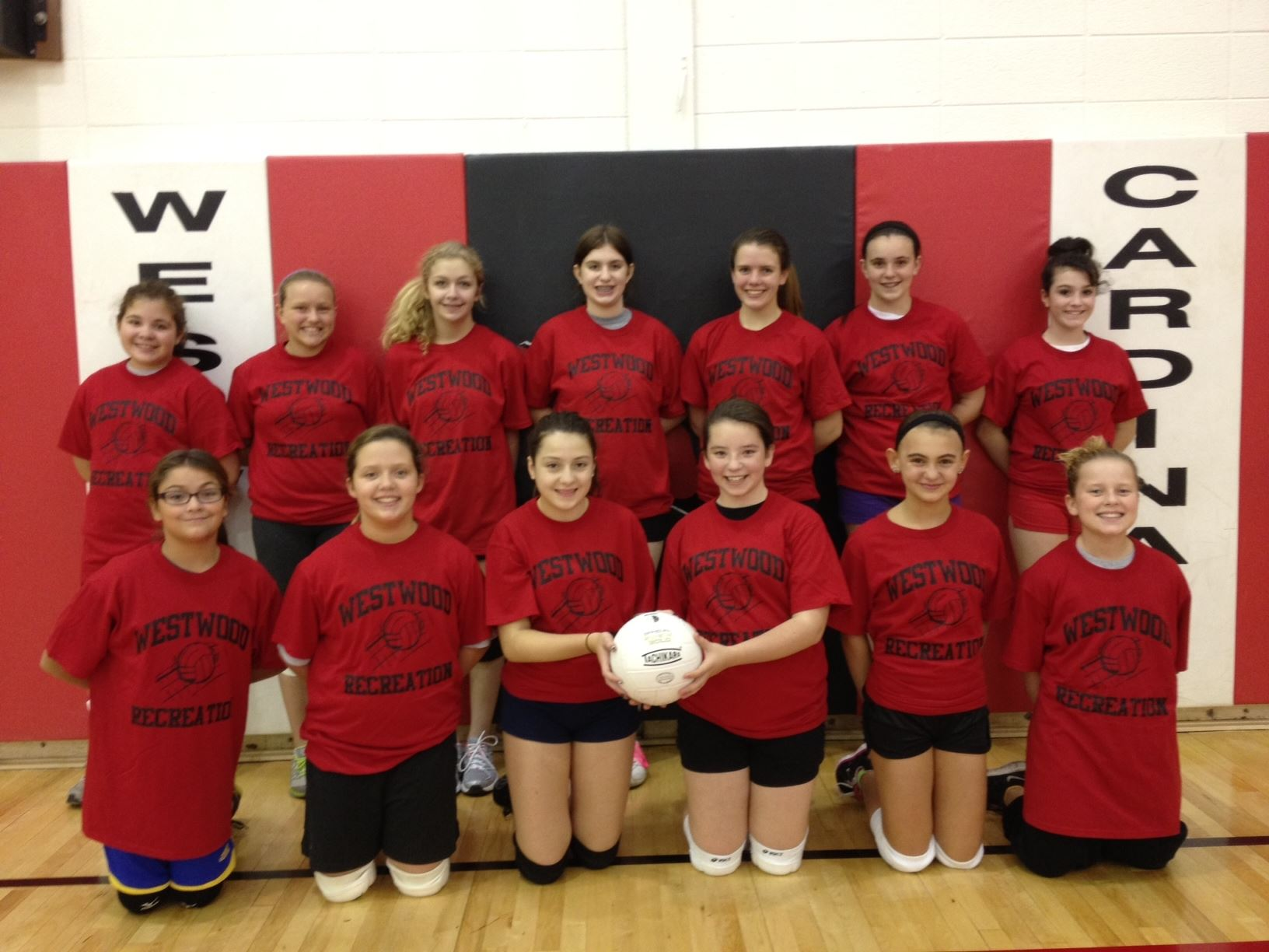 2012 7th and 8th Grade Girls Volleyball