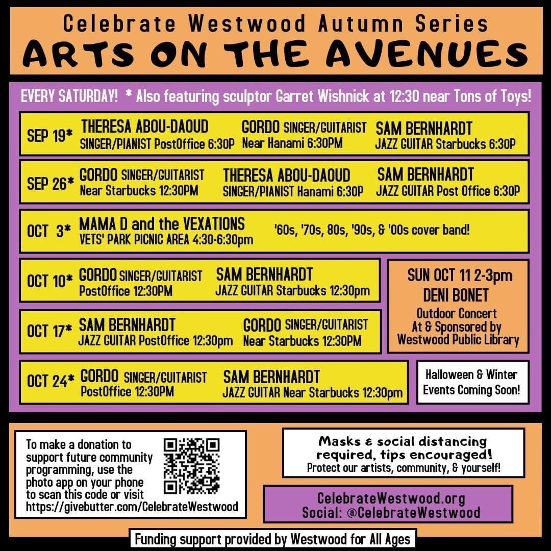 Arts on the Ave Fall